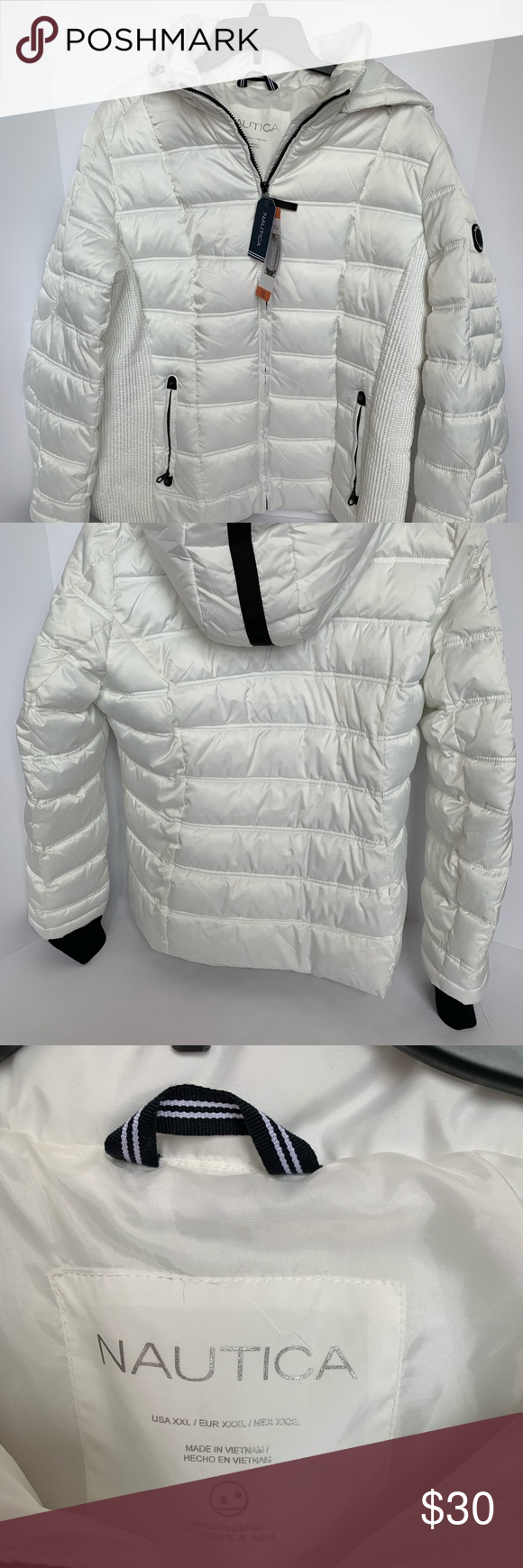 Nautica Waterproof Puffer Jacket Runs Smaller Fashion Design Clothes Design Fashion [ 1740 x 580 Pixel ]