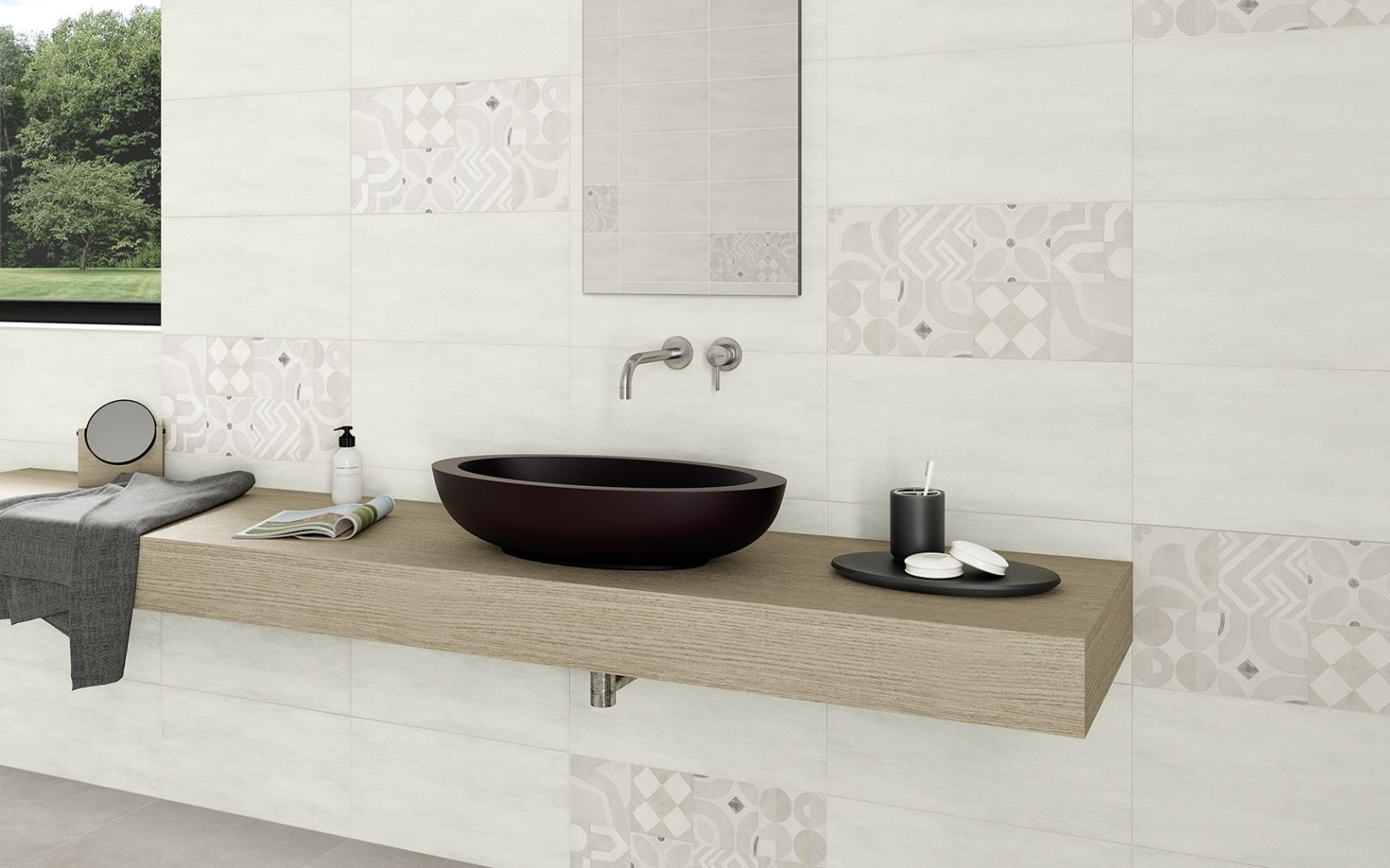 Lilu Dekorfliesen Badezimmer Design Und Fliesen
