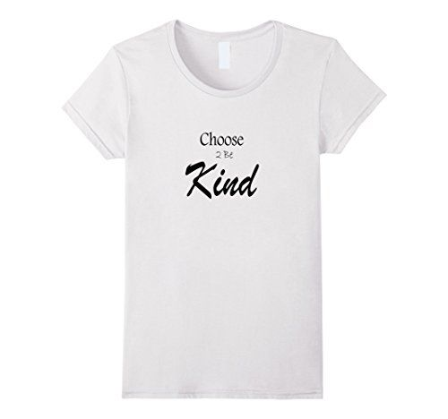 WomenS The Next Path Choose B Kind TShirt Small White  Https