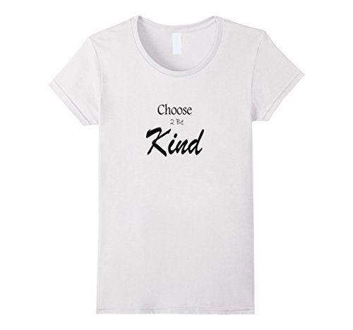 WomenS The Next Path Choose B Kind TShirt Small White  Https