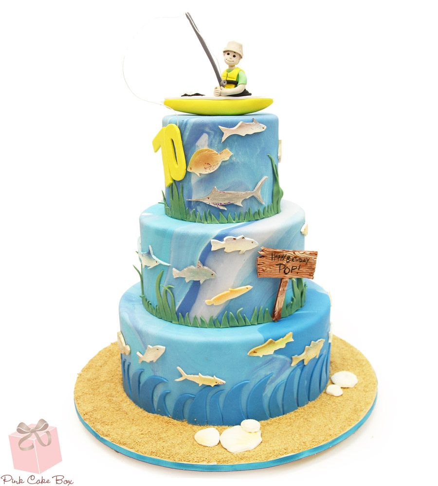 Nothing Like A Fishing Cake To Celebrate A 70th Birthday
