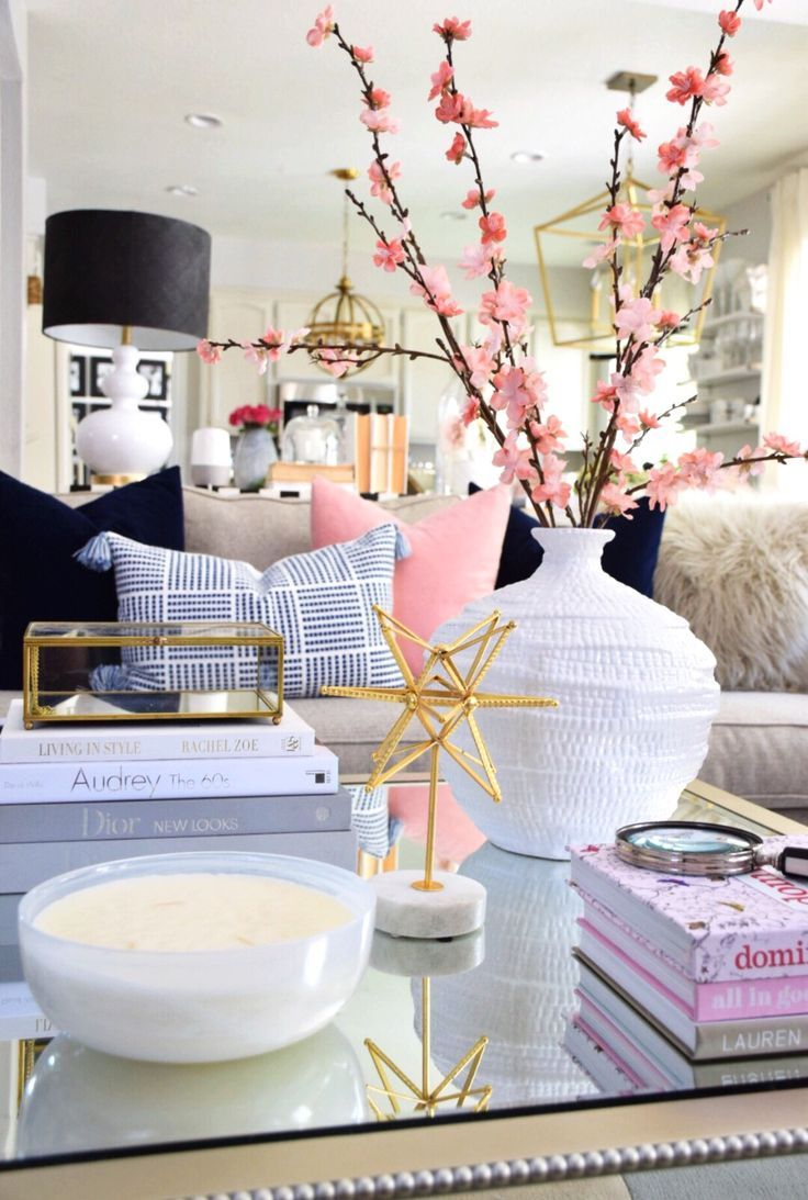 - Tips On How To Style Your Coffee Table Decor, Decorating Coffee