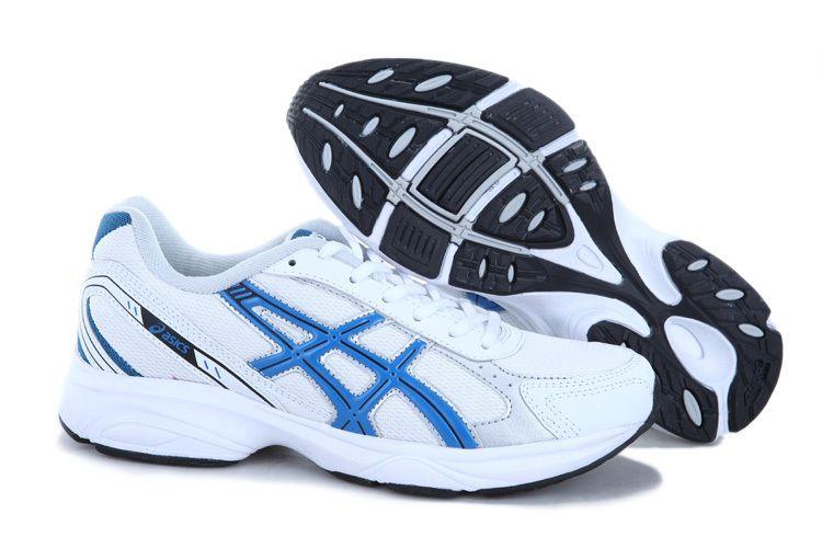 asics blue shoes
