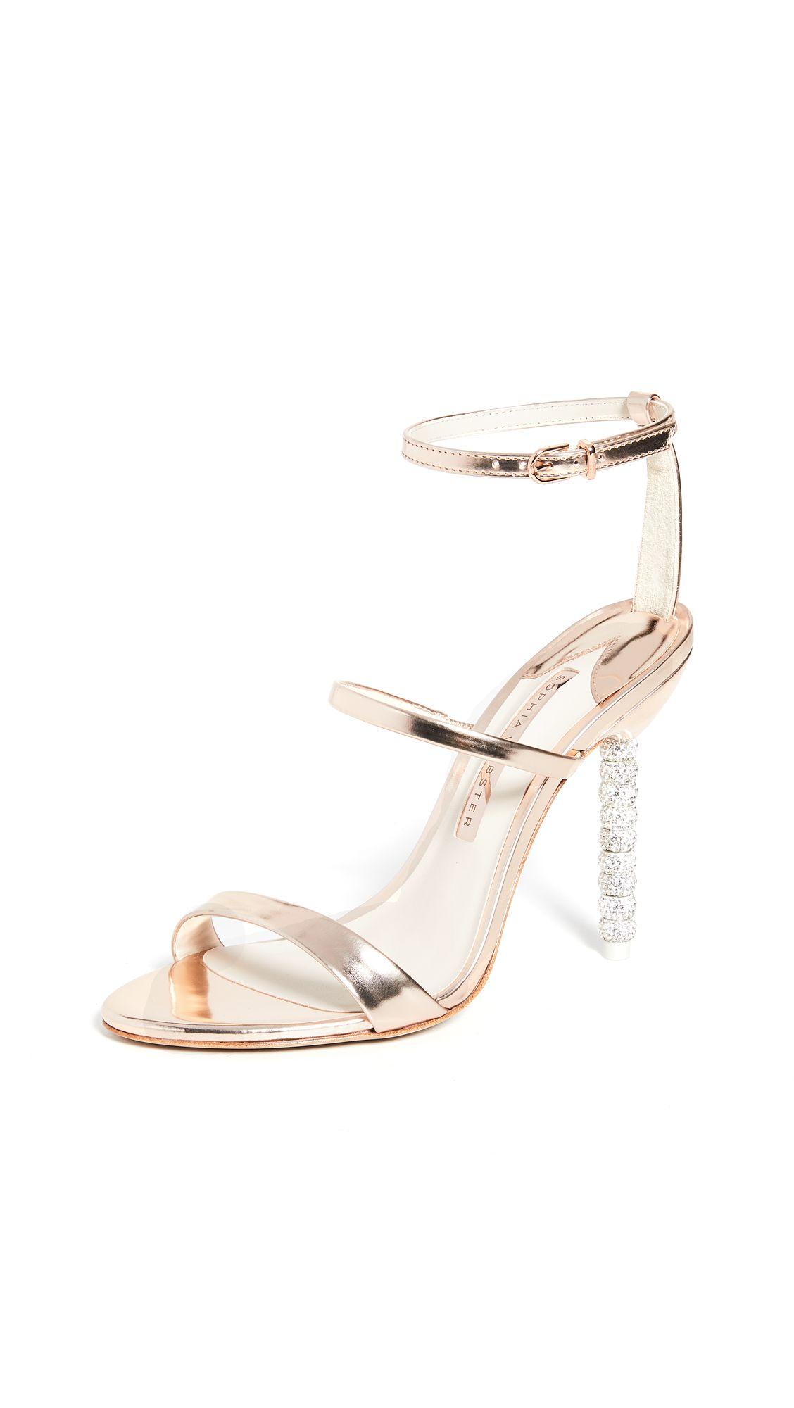 Rosalind Crystal Sandals in 2020 | Rose
