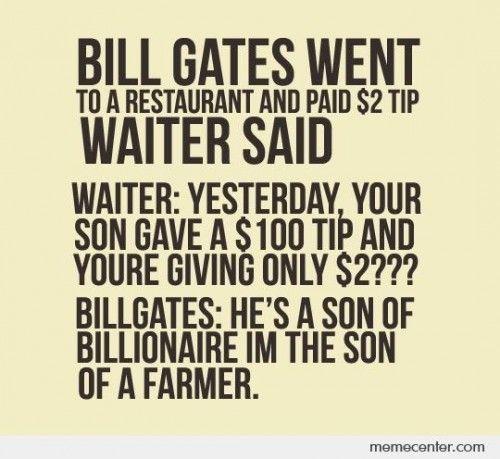 A story of Bill Gates
