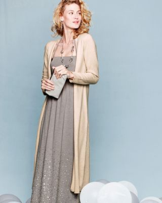 Eco-Cashmere Duster.  Love the color, love the length.  www.citranonaples.com