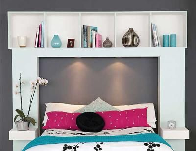 Diy Headboard With Shelves diy headboards for budget bedroom makevers | bookshelf headboard
