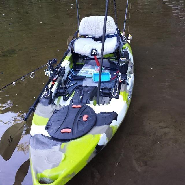 Feelfree Lure 11 5 Kayak Kayak Accessories Kayaking Best Fishing Kayak