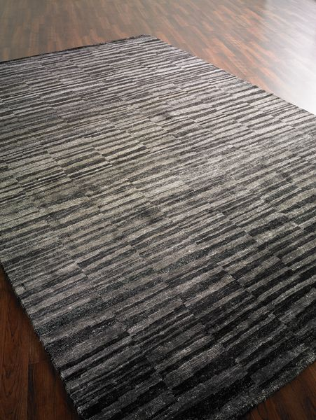 Striped Area Rug Handmade In 6 X 9 With Images Dump Furniture
