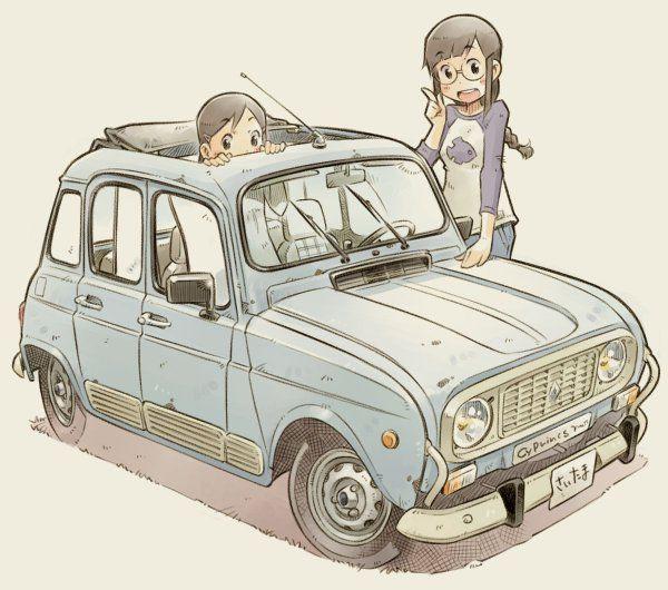 Sekihang Mybk かわいい車 車 イラスト 車 絵