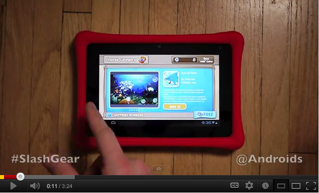 nabi 2 #tablet: Daddy Mode hands-on video by Chris Burns for
