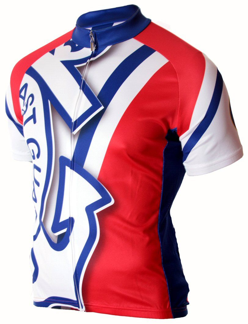 US Coast Guard Cycling Jersey - FREE SHIPPING - http://www.cyclegarb.com/83-sportswear-cycling-jerseys.html