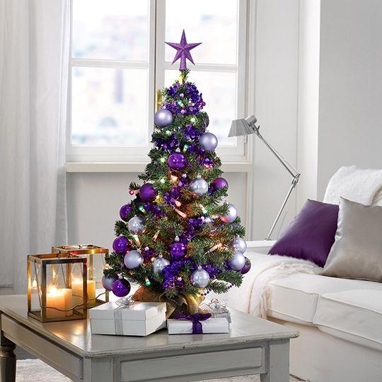 Se busca rbol de navidad que no achique el sal n - Como decorar arboles de navidad color blanco ...