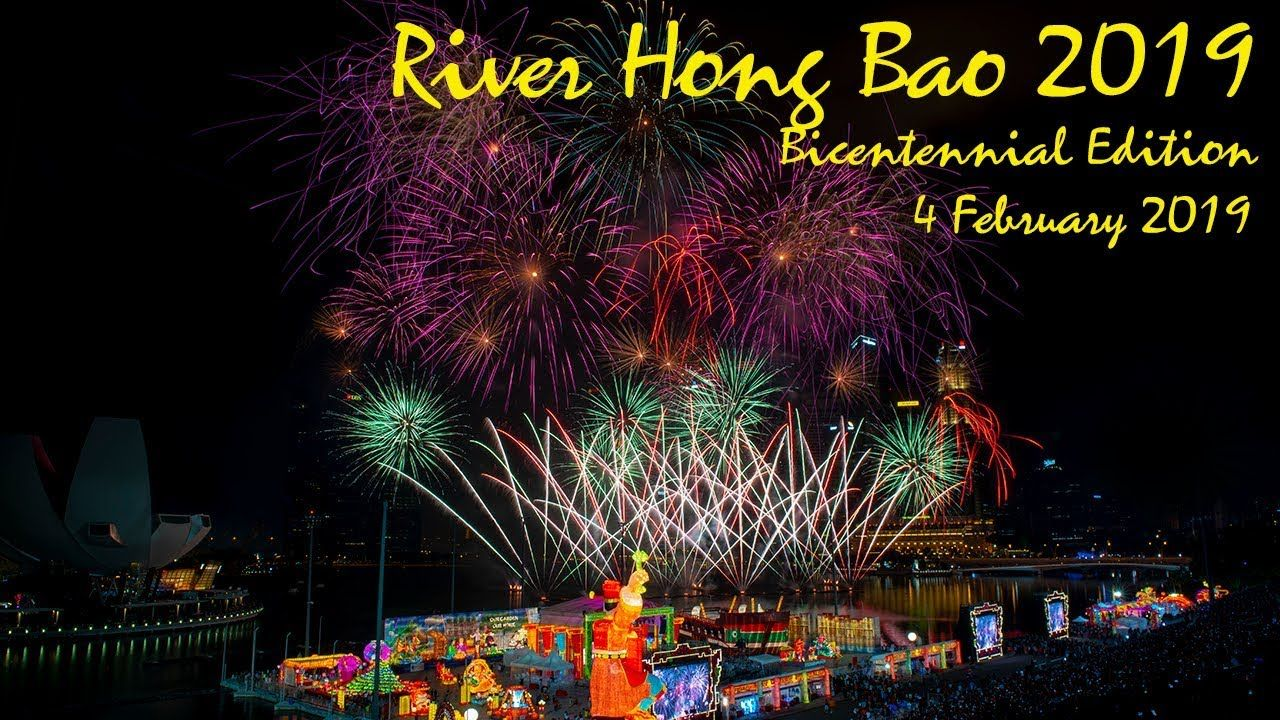River HongBao 2019 Day 02 Fireworks Chinese new year