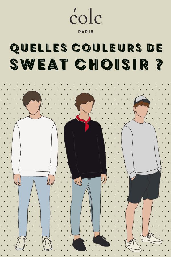 307b0b9ef4905 Quelles couleurs de sweat choisir    sweat  sweatshirt  mode  modefashion   sweats