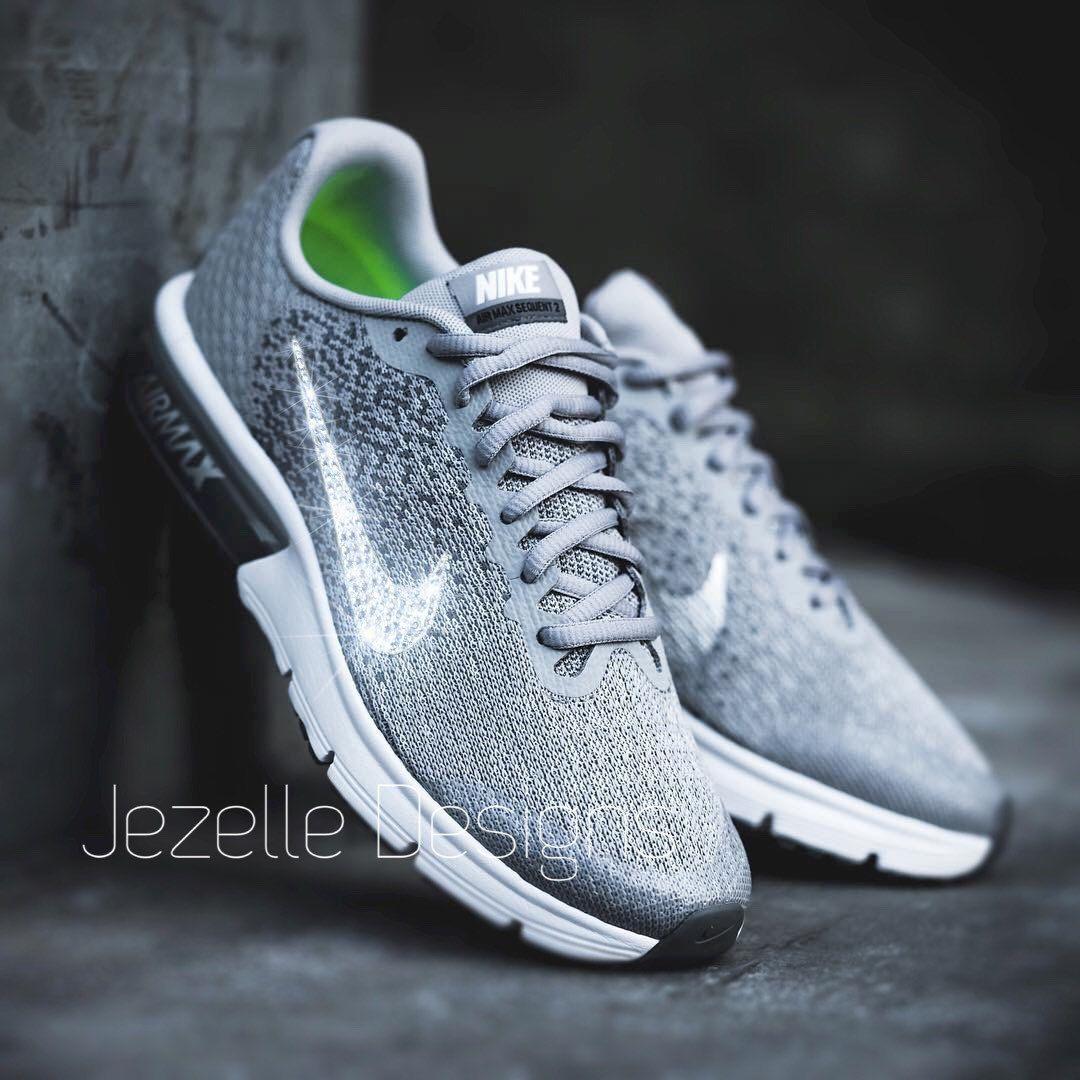 Shoe Love   True Love 💖JezelleDesigns.etsy.com💎👟💎 Swarovski Crystal  Nike Shoes!!! 7295930f8