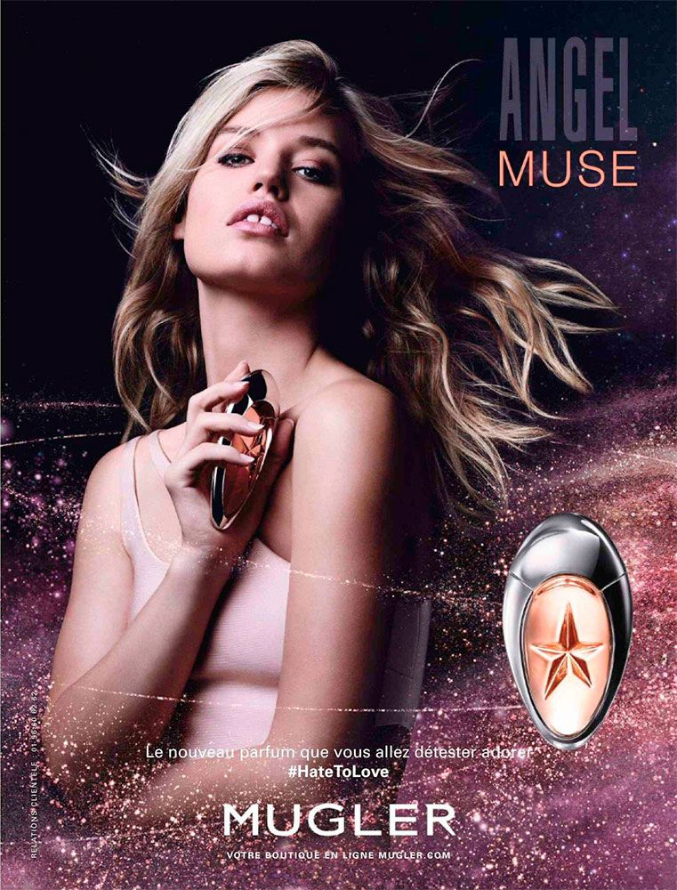 En Du Parfum Muse Publicité Angel 2016De Thierry MuglerParfums HE29DI