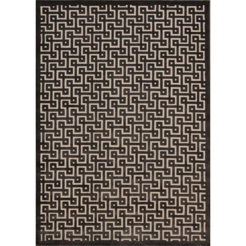 Ultima Ivory/Charcoal (Ivory/Grey) 7 ft. 9 in. x 10 ft. 10 in. Area Rug
