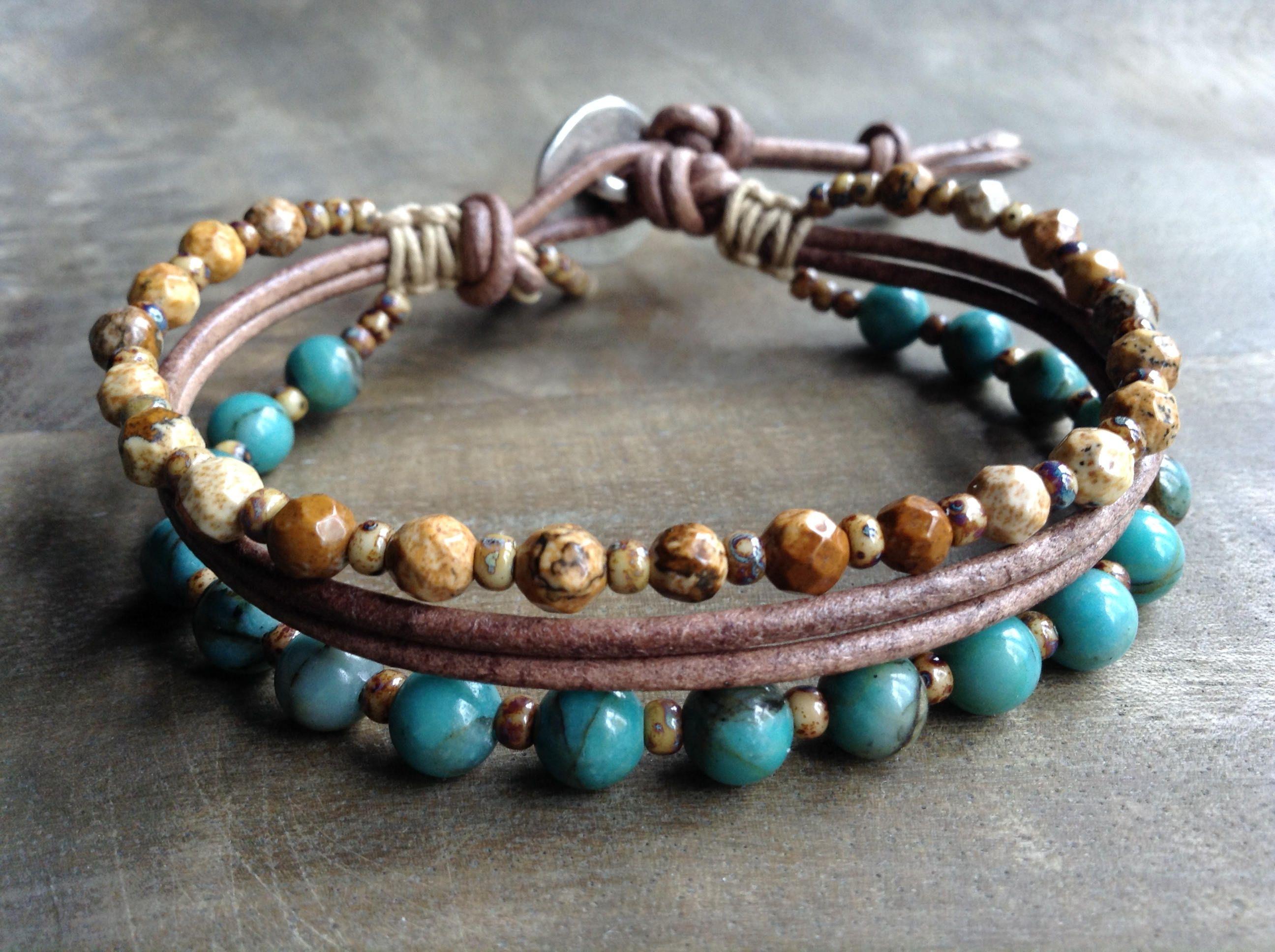 Bohemian bracelet boho chic bracelet boho bracelet hippie bracelet