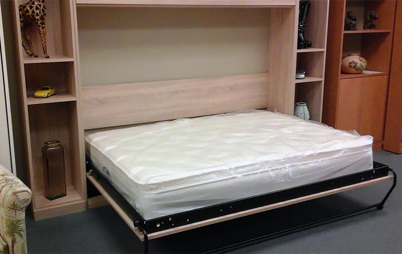 miller s murphy beds panel door side mount wall bed on wall beds id=14539