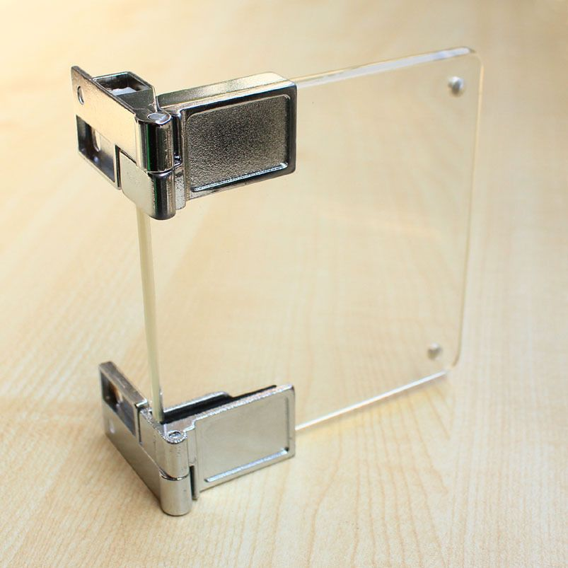 Glass to Glass Hinges   glass cupboard cabinet door clamp ...