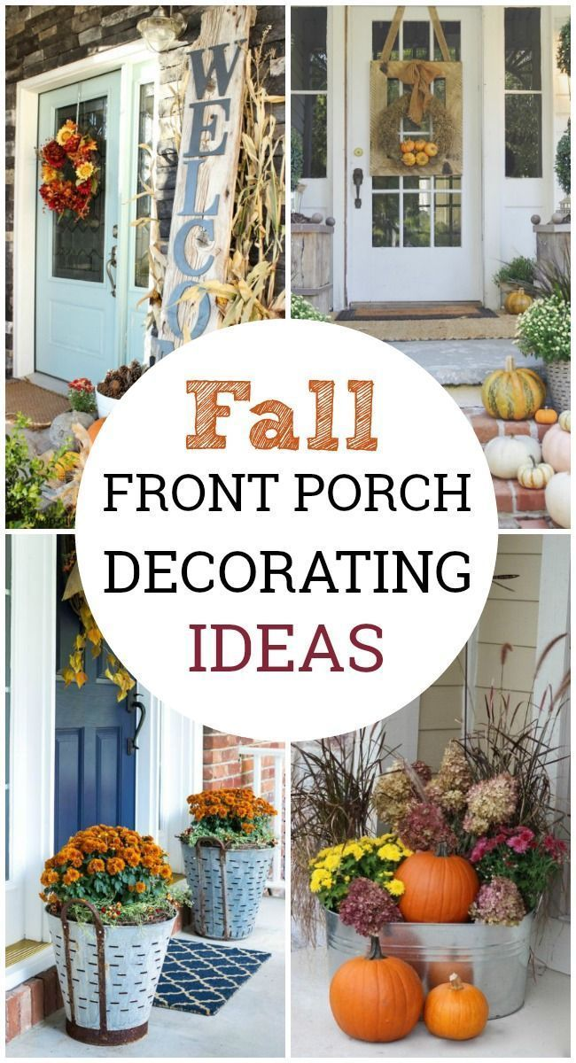 Fall Front Porch Decorating Ideas #smallporchdecorating Let these fall front por...#decorating #fall #front #ideas #por #porch #smallporchdecorating #frontporchideascurbappeal