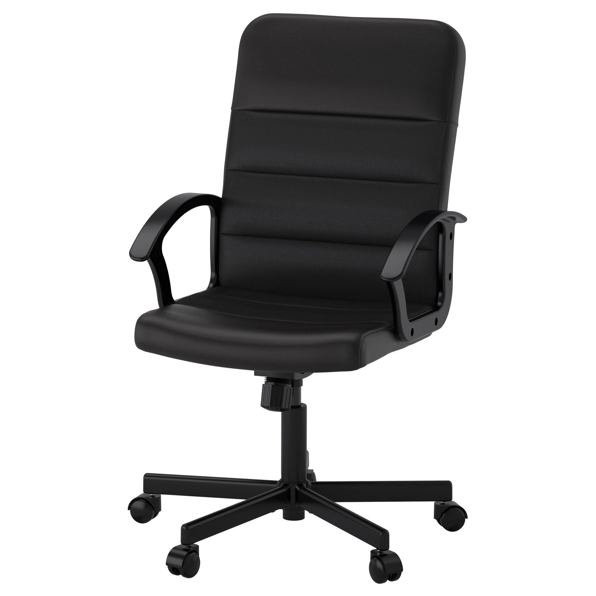 RENBERGET Swivel chair Bomstad black Ikea desk chair