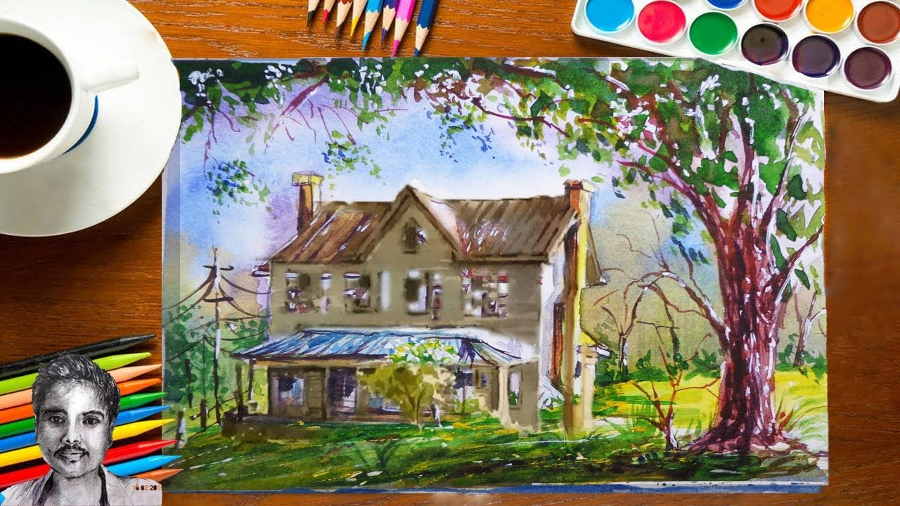 Best Watercolor Painting For Beginners Watercolor Painting Ideas