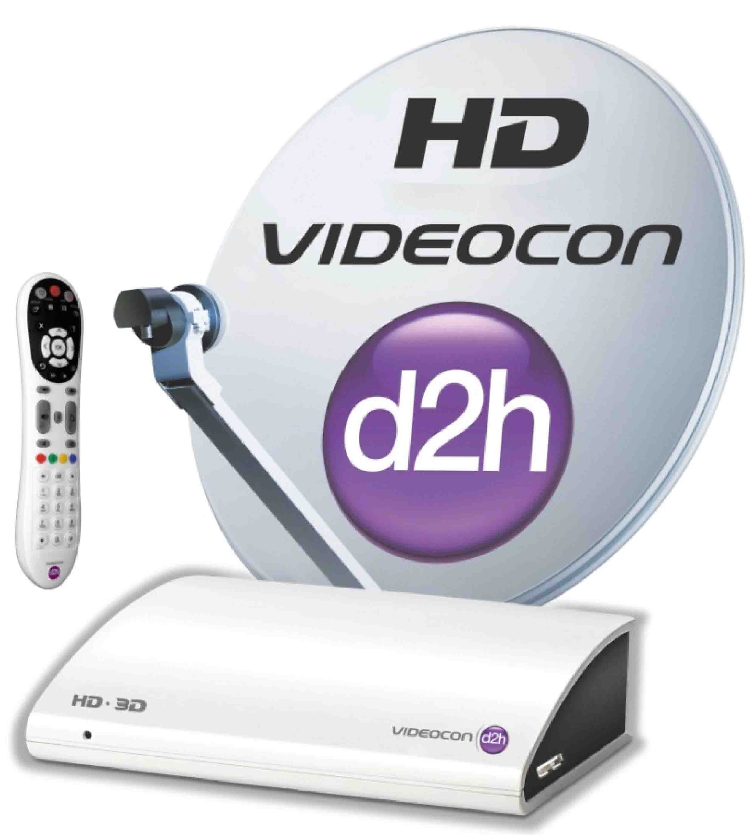 Videocon d2h recharge Postpaid online recharge is easy to