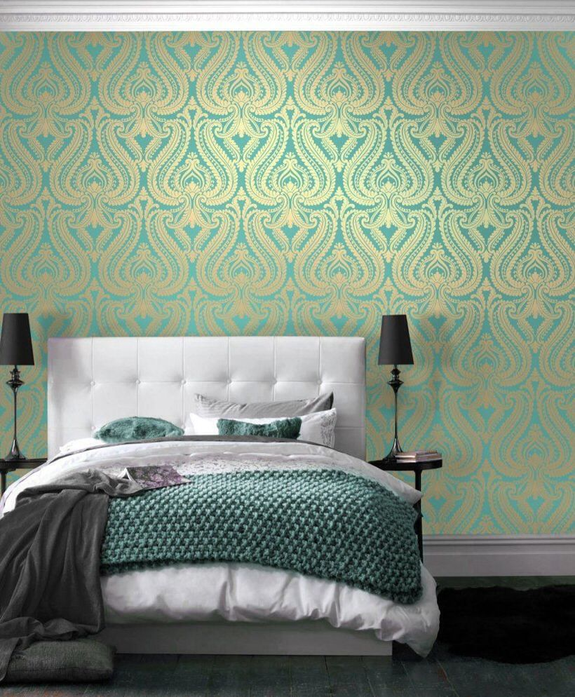 Image result for teal and gold wallpaper Teal and gold