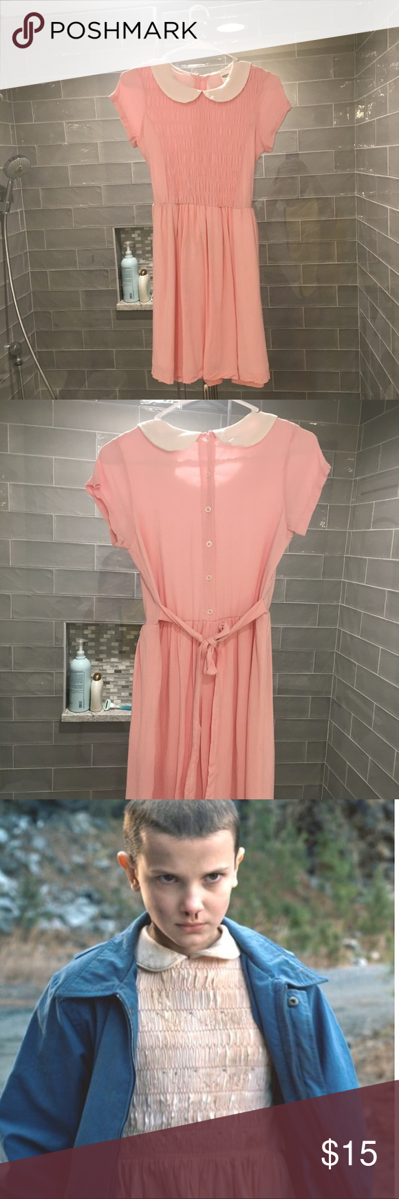 Pink dress from stranger things  Eleven from Stranger Things Dress Cute and comfy eleven inspired