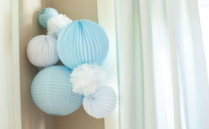 Des idées de décoration pour une chambre de garçon dans les tons de bleu #decochambrebleu #decoenfant #decobleu #decomuralebleu #decopapierbleu #decochambrebebe #deco chambregarcon