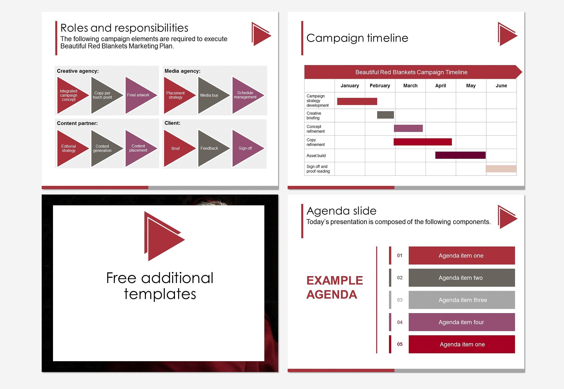 Marketing Campaign Plan By Starting Point Templates On Creativemarket