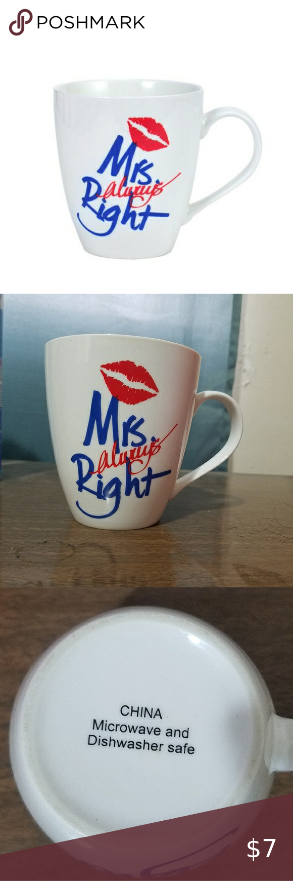 """Mrs. Always Right"" Coffee Mug in 2020 Mugs, Coffee and"
