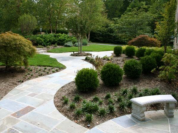 paver walkway of pennsylvania flagstone in irregular stone on magnificent garden walkways ideas for unique outdoor setting id=51836