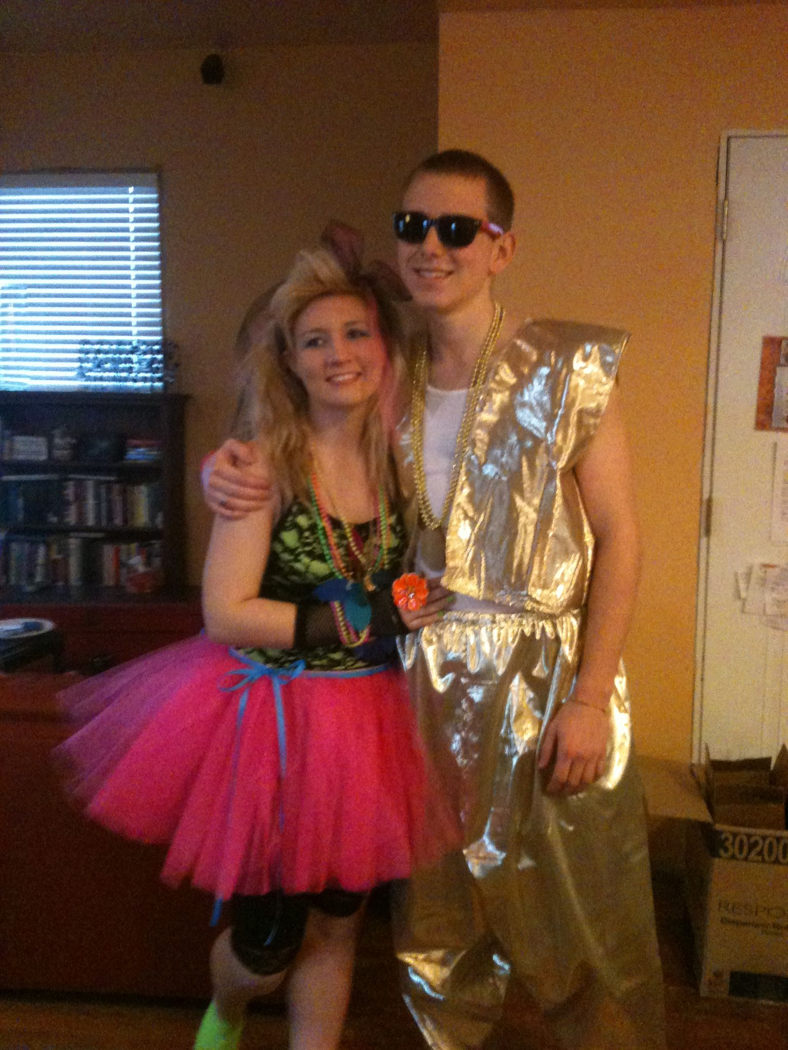 80u0027s couple halloween costume. MC hammer and cyndi lauper  sc 1 st  Pinterest & 80u0027s couple halloween costume. MC hammer and cyndi lauper ...
