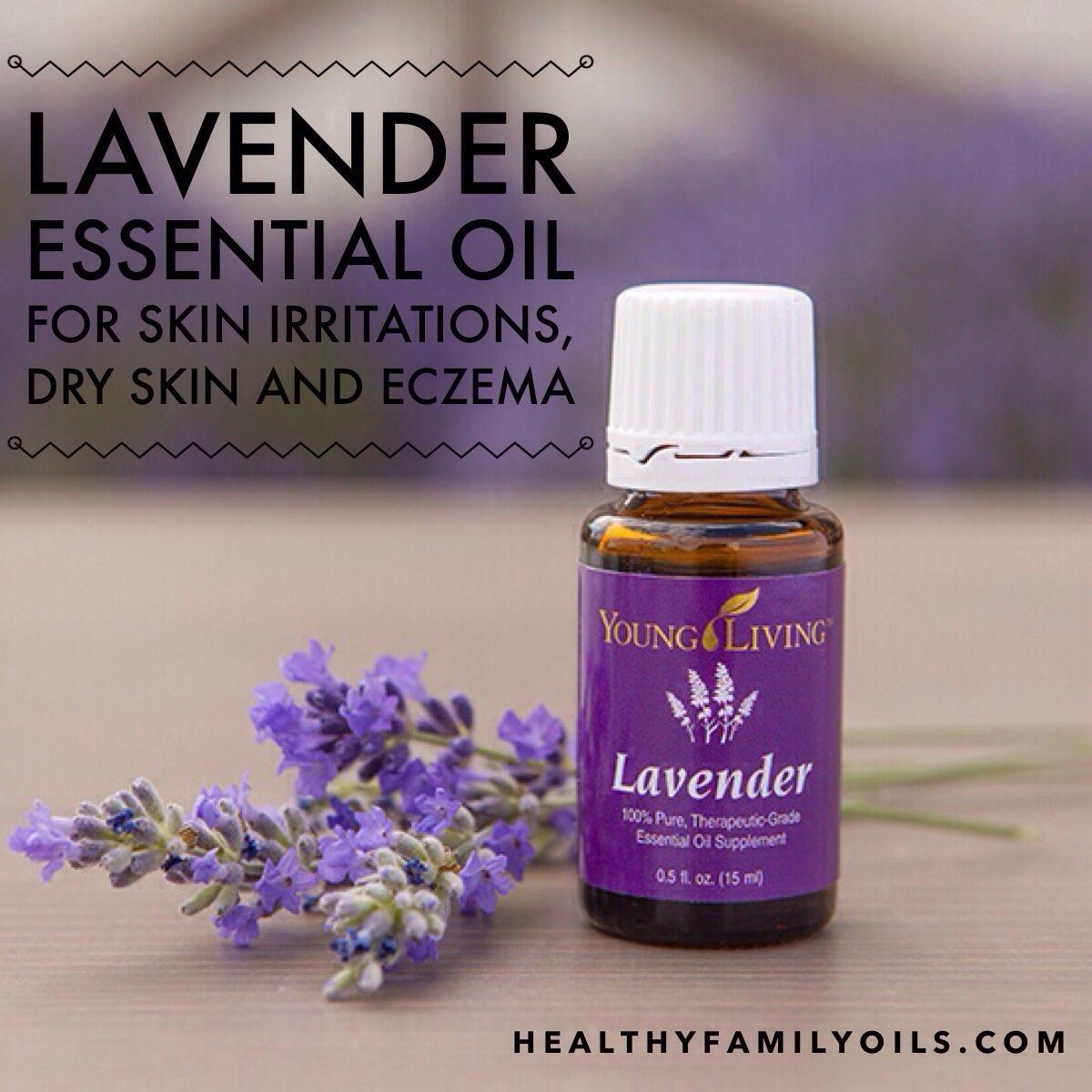 Natural skin care lavender essential oil for skin