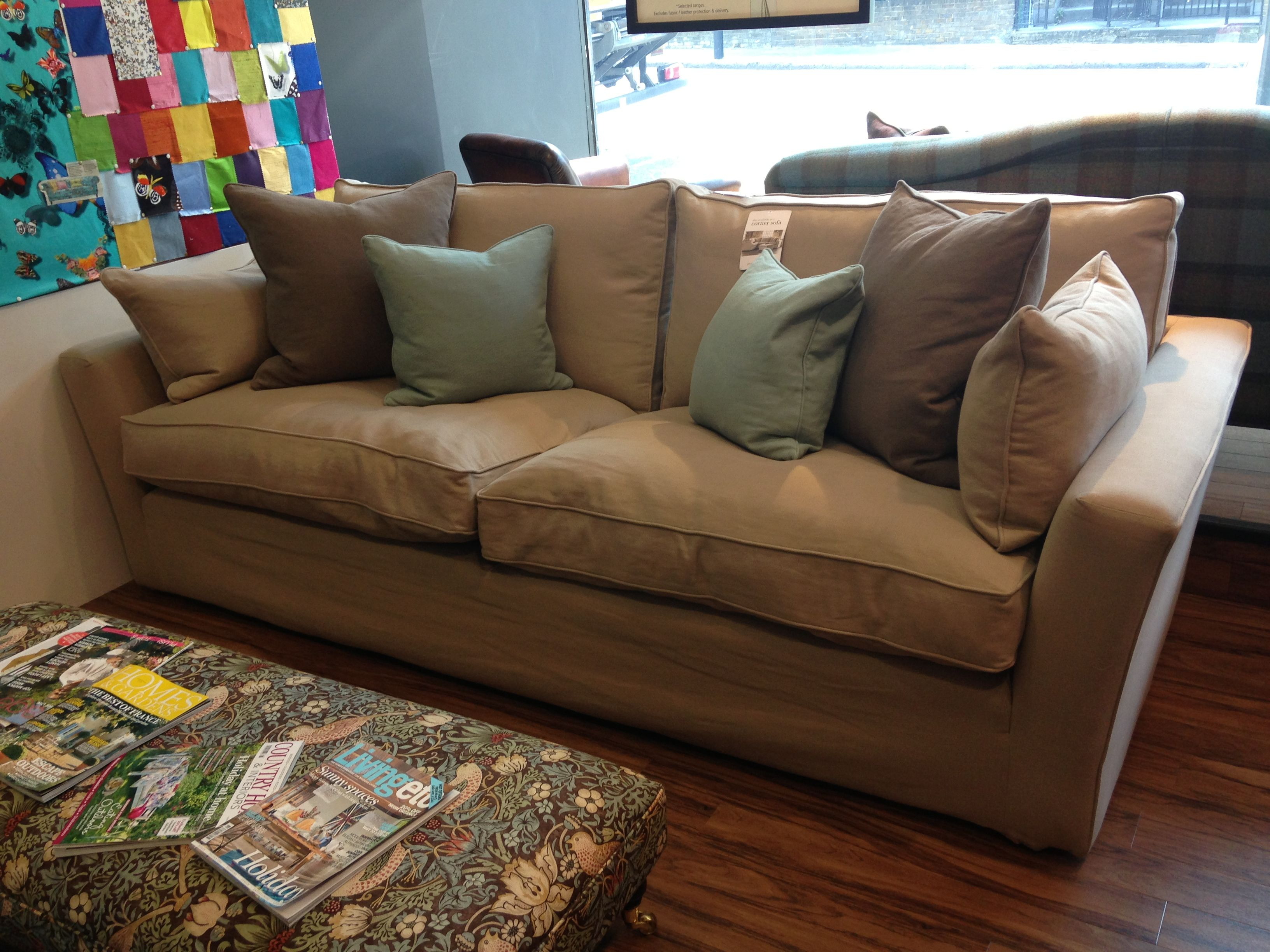 Lady May 3 seater sofa in Seduction Fir aworkshop