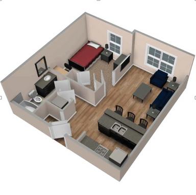 desain rumah minimalis dalam gang | apartamentos, living