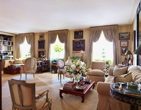 Mark Hampton S Living Room Makeovers Pictures Of Mark Hampton S Living Room House Beautiful