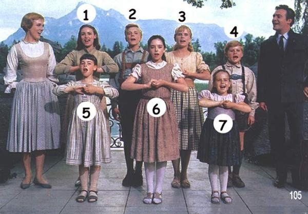 New Obsession: The Sound of Music  She's only seen clips on