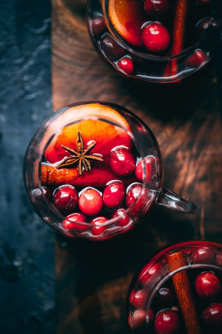 Cranberry Molasses Mulled Wine Big Batch Punch Recipe Mulled Wine Holiday Punch Recipe Wine Recipes