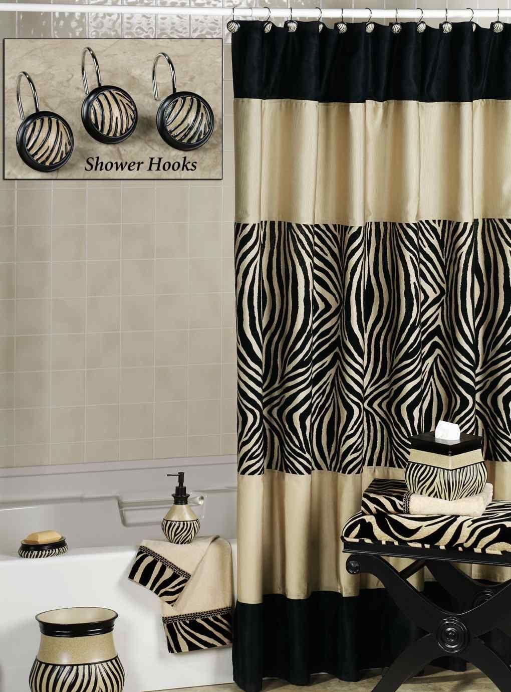 Animal Print Bathroom Zebra Print Bathroom Black Shower