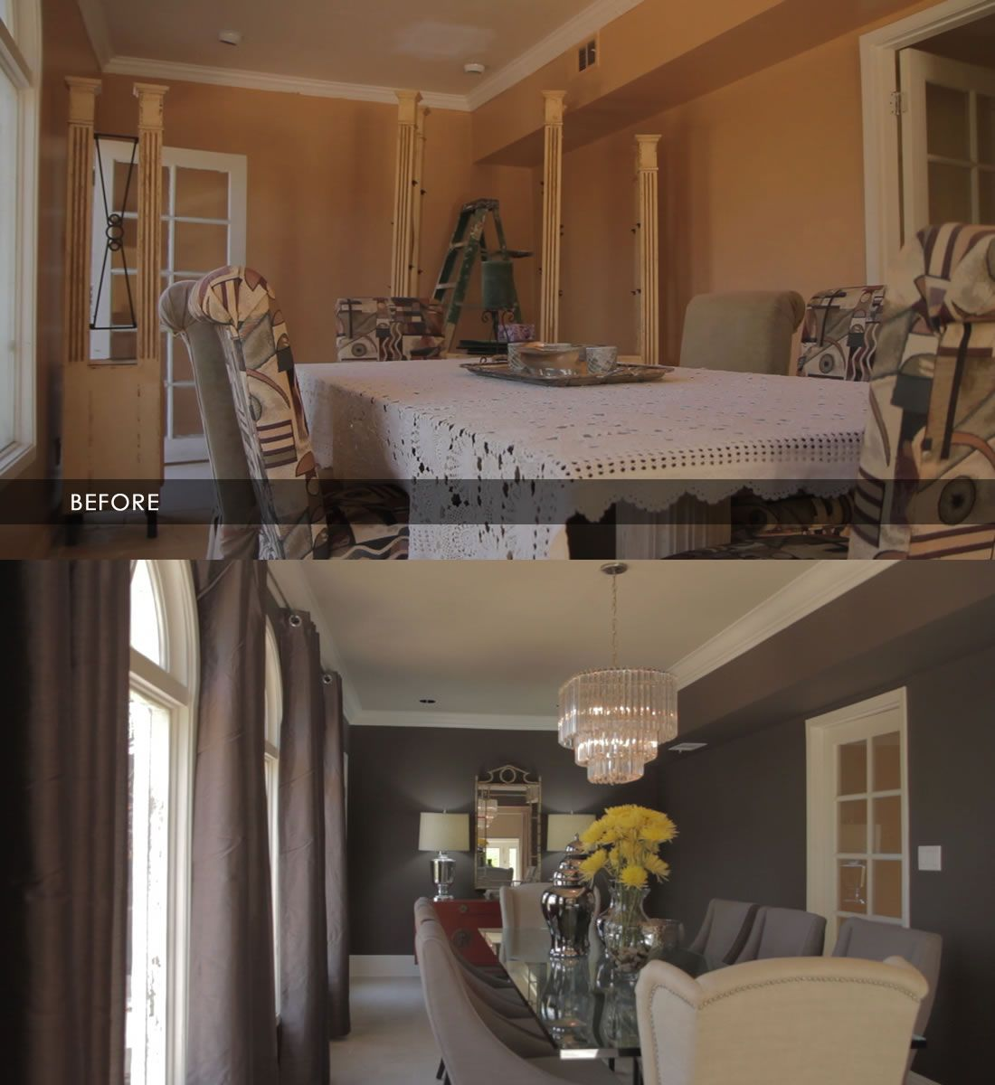 Jeff Lewis Kitchen: BEFORE AND AFTER PHOTOS...love This Paint Color... JEFF