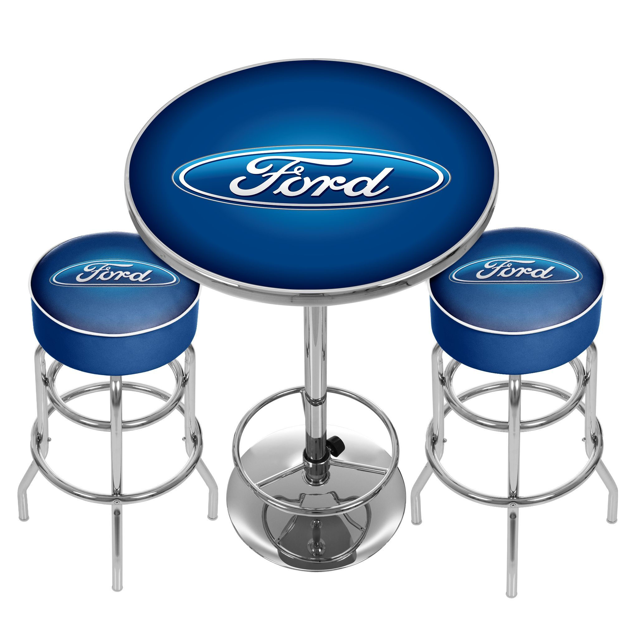 Ford Room Combo 2 Bar Stools And Table