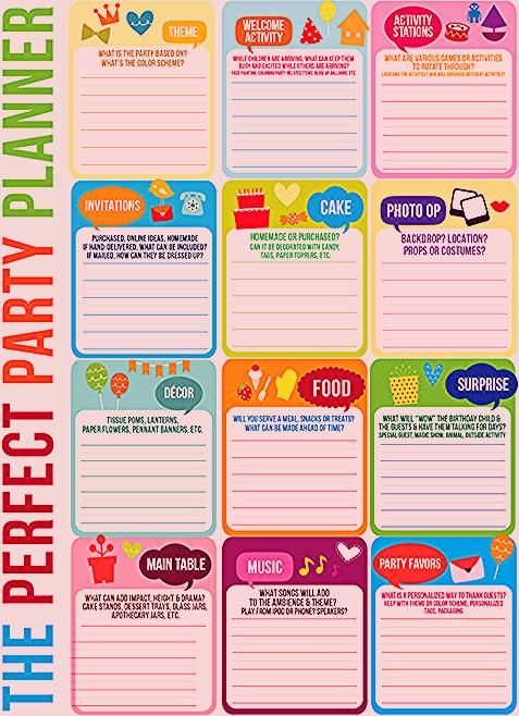 Photo of FREE Download! Party Planning Timeline + Mini Cake Pennant Flags! | Kara's Party Ideas