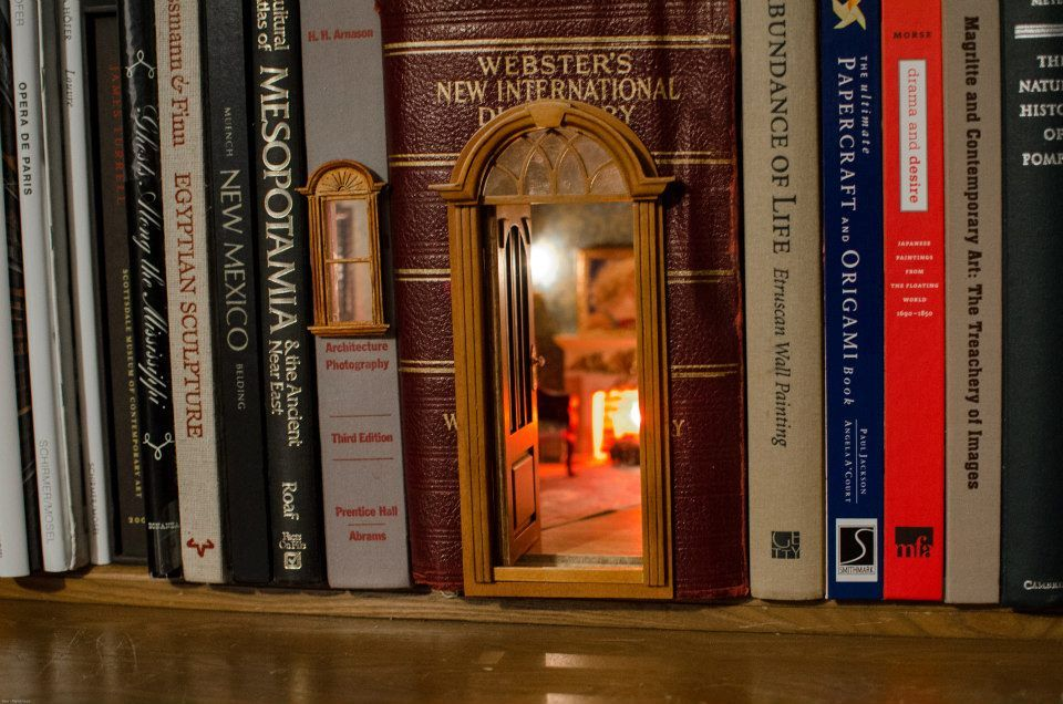Miniature Book Nooks Belong on Every Bookshelf, It's Just a Matter of Time
