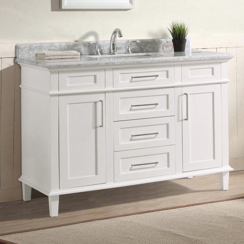 Ari Kitchen And Bath Newport 48 In Single Bathroom Vanity Set