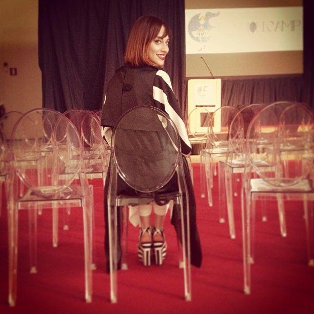 Red | @marziaperagine & Victoria Ghost #fashioncamp2013 #fashion #kartell #kartellalamode Web Instagram User » Followgram