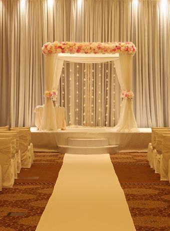 Blooming Gallery Ceremony Chryssa Wedding Wedding Decorations Wedding Backdrop Decorations Desi Wedding Decor